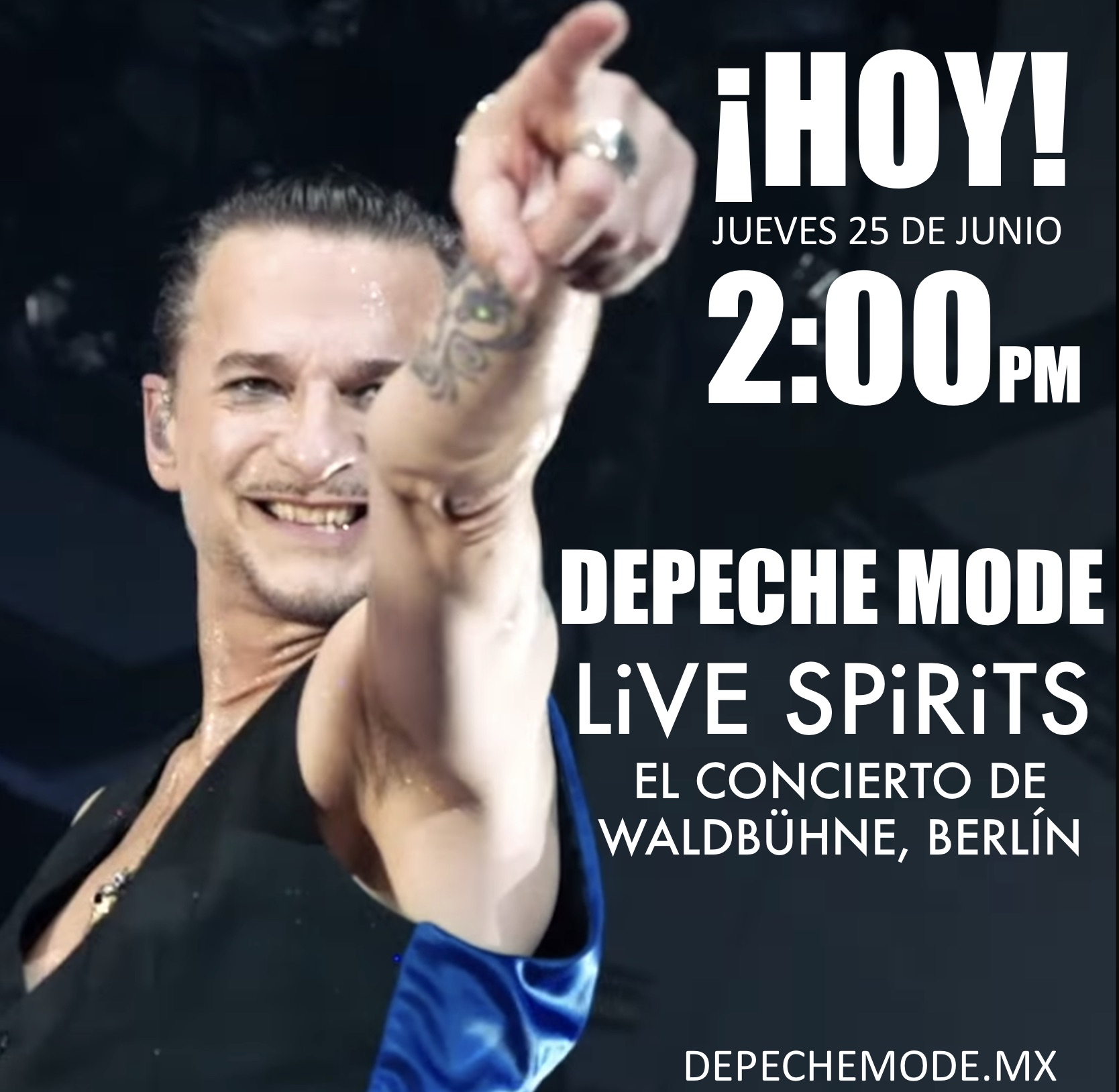 DEPECHE MODE LIVE 25 JUNIO YOUTUBE